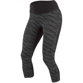 PEARL iZUMi Flash 3/4 Shorts Dam black/shadow grey